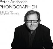 Peter Androsch PHONOGRAPHIEN
